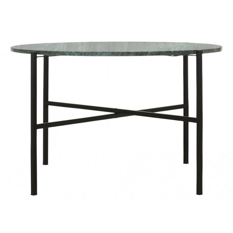 Table basse ronde marbre vert House Doctor The Green