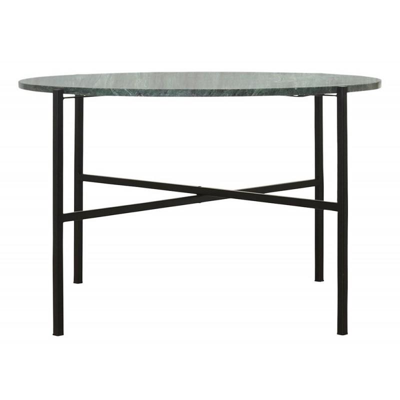table basse ronde marbre vert house doctor the green cb0731. Black Bedroom Furniture Sets. Home Design Ideas
