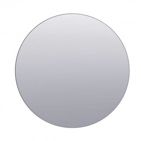 house doctor walls sc0322 miroir mural rond gris d 80 cm. Black Bedroom Furniture Sets. Home Design Ideas