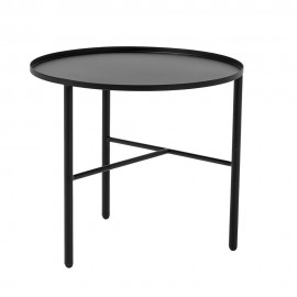 Table basse metal noir 3 pieds bloomingville pretty