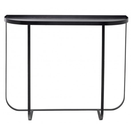 bloomingville table console metal noir harper 59098601. Black Bedroom Furniture Sets. Home Design Ideas