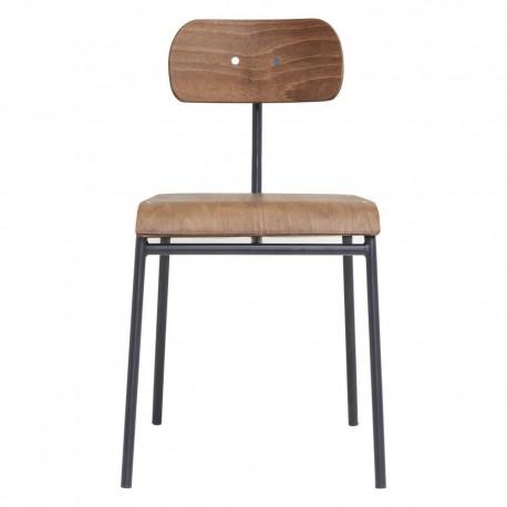 Chaise retro design bois house doctor school