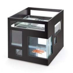 Aquarium umbra design fishhotel noir
