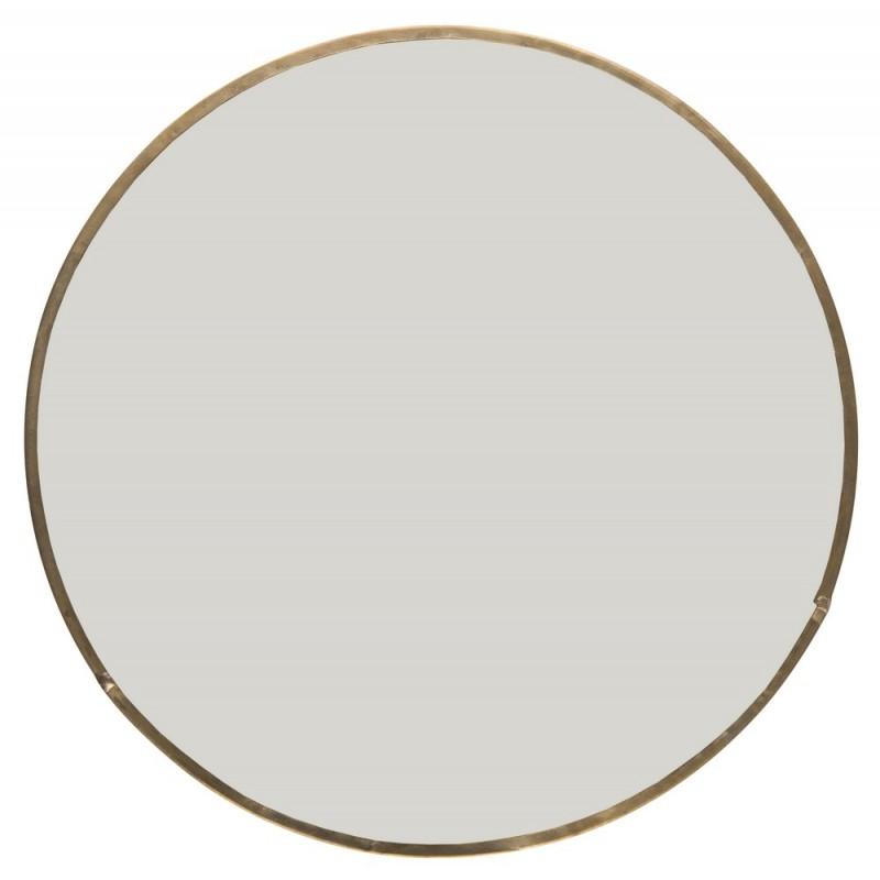 miroir laiton rond vintage ib laursen 9645 17. Black Bedroom Furniture Sets. Home Design Ideas