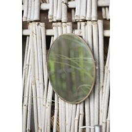 Miroir rond laiton vintage ib laursen