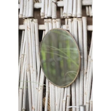 Miroir rond laiton vintage IB Laursen D 23 cm