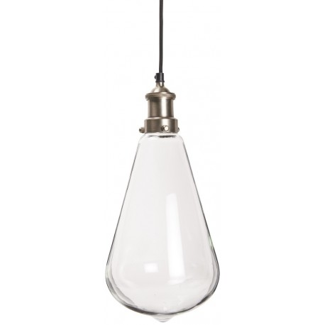Suspension retro vintage goutte de verre ib laursen