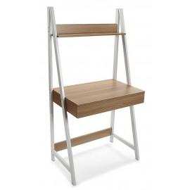 table bureau avec etagere versa olympia