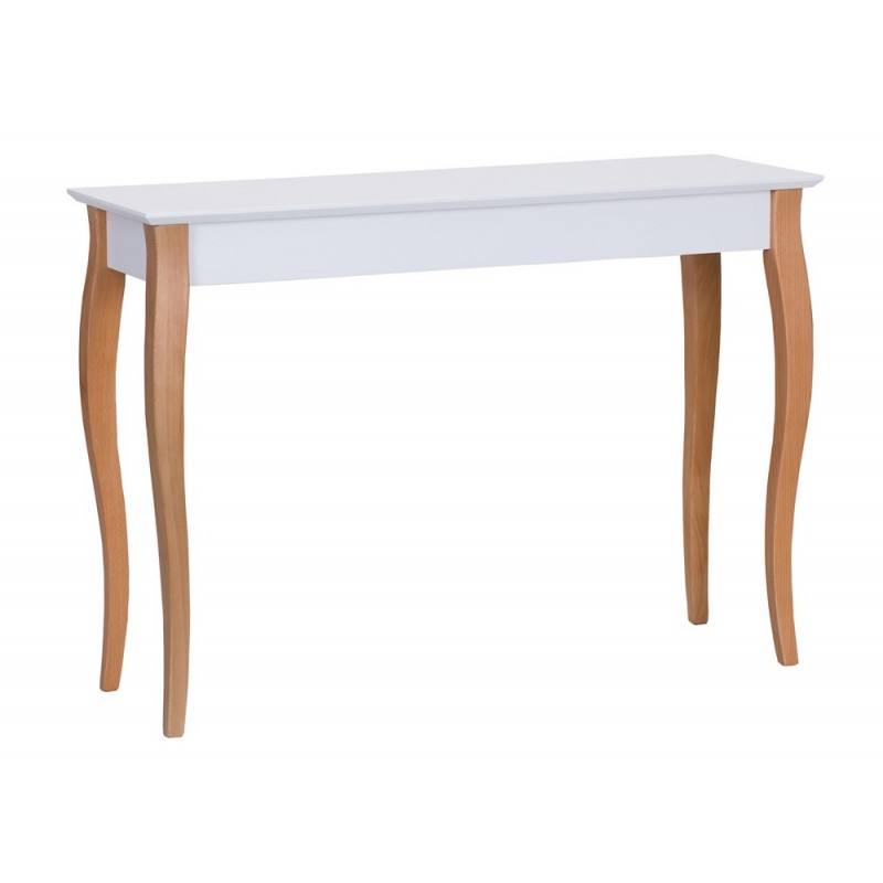 table console classique blanche pieds bois ragaba lillo ragabalil31. Black Bedroom Furniture Sets. Home Design Ideas
