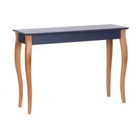 Table console classique graphite bois ragaba lillo