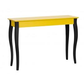 Table console classique jaune pieds noirs ragaba lillo