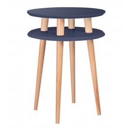 table d appoint ronde graphite bois ragaba ufo
