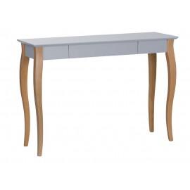 Table console classique bois Ragaba Lillo gris