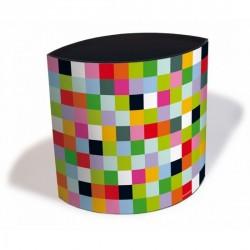 Corbeille à papier bureau mosaic wasty remember
