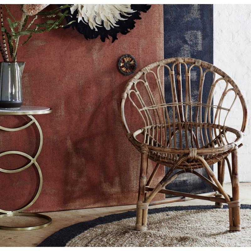 madam stoltz fauteuil vintage en bambou 19677. Black Bedroom Furniture Sets. Home Design Ideas