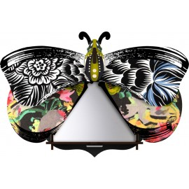 Decoration murale papillon miroir miho unexpected things elisabetta