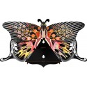 Papillon mural en bois miho unexpected things madama butterfly