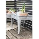 table basse porte plantes en zinc ib laursen