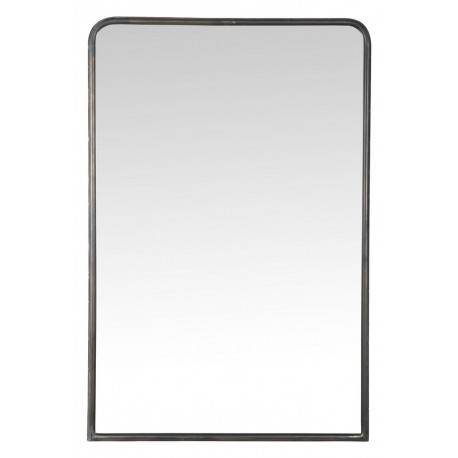 grand miroir campagne chic metal noir  ib laursen