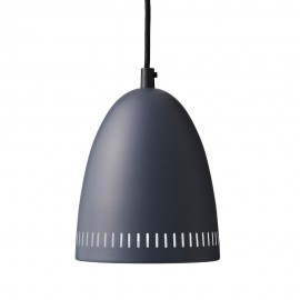 Suspension métal gris anthracite Super Living Dynamo 19 cm