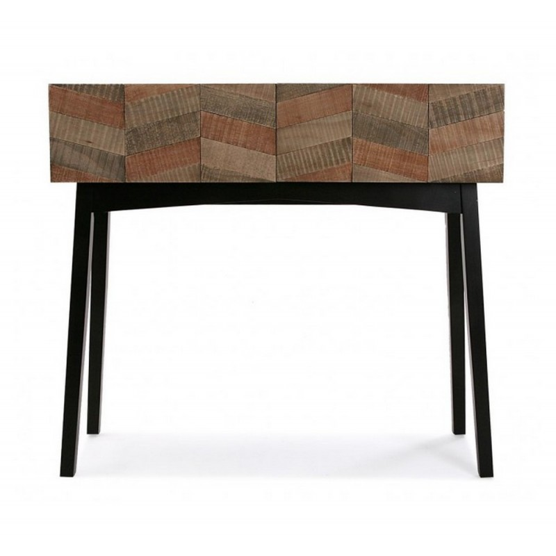 table console contemporaine noir bois versa 21080057. Black Bedroom Furniture Sets. Home Design Ideas