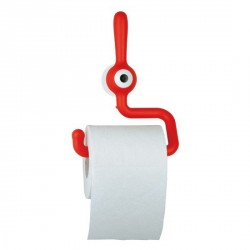Porte papier toilette original koziol toq rouge