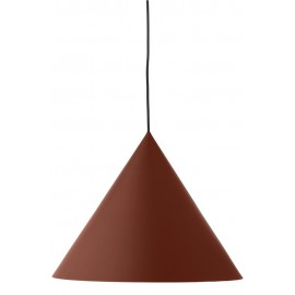 frandsen benjamin suspension conique design rouge poudre