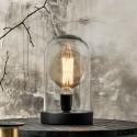 lampe sous cloche de verre nordal dome