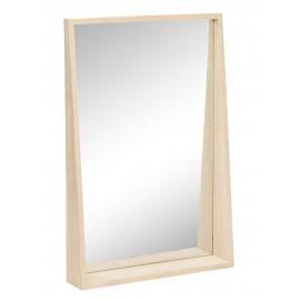 Miroir rectangulaire bois chêne clair Hübsch
