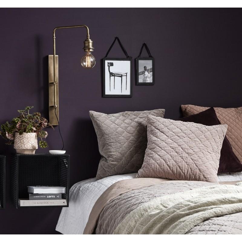 nordal applique murale vintage laiton antique 1589. Black Bedroom Furniture Sets. Home Design Ideas