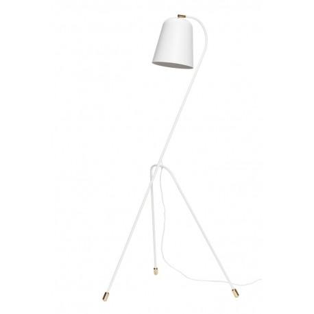 hubsch lampadaire design blanc metal