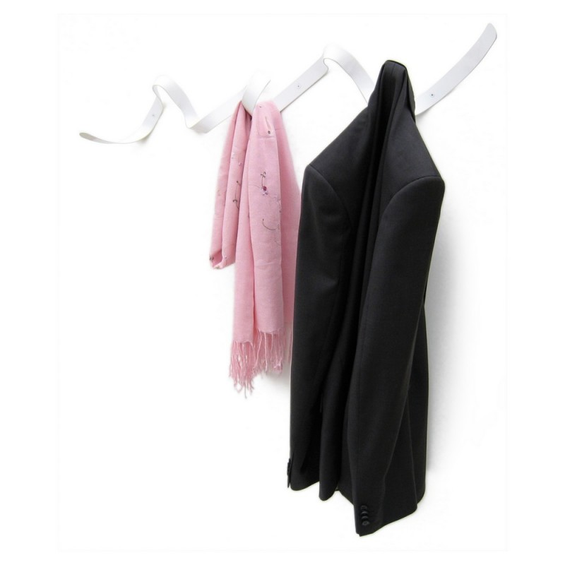 portemanteau design blanc ruban ribbon headsprung. Black Bedroom Furniture Sets. Home Design Ideas