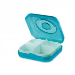 Pilulier rigolo koziol WELL.COM turquoise