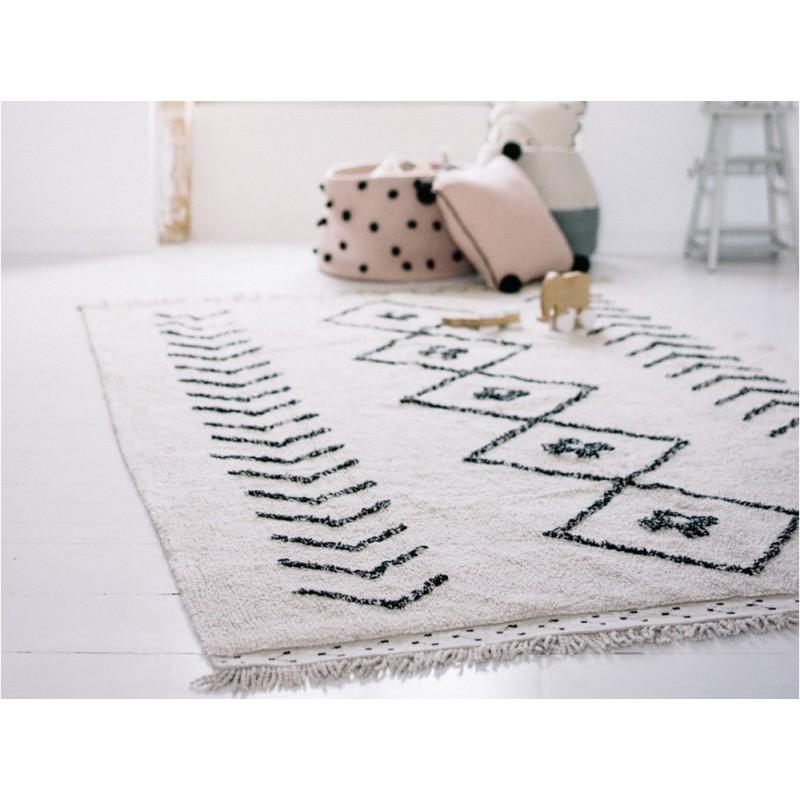 lorena canals bereber rhombs tapis lavable 140 x 210 cm. Black Bedroom Furniture Sets. Home Design Ideas