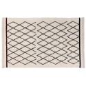 lorena canals bereber crisscross tapis lavable en machine 140 x 210 cm