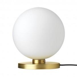 broste copenhagen caspa lampe a poser boule blanche laiton