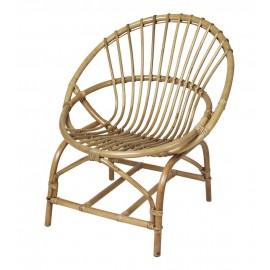 broste copenhagen frida fauteuil rotin retro rond