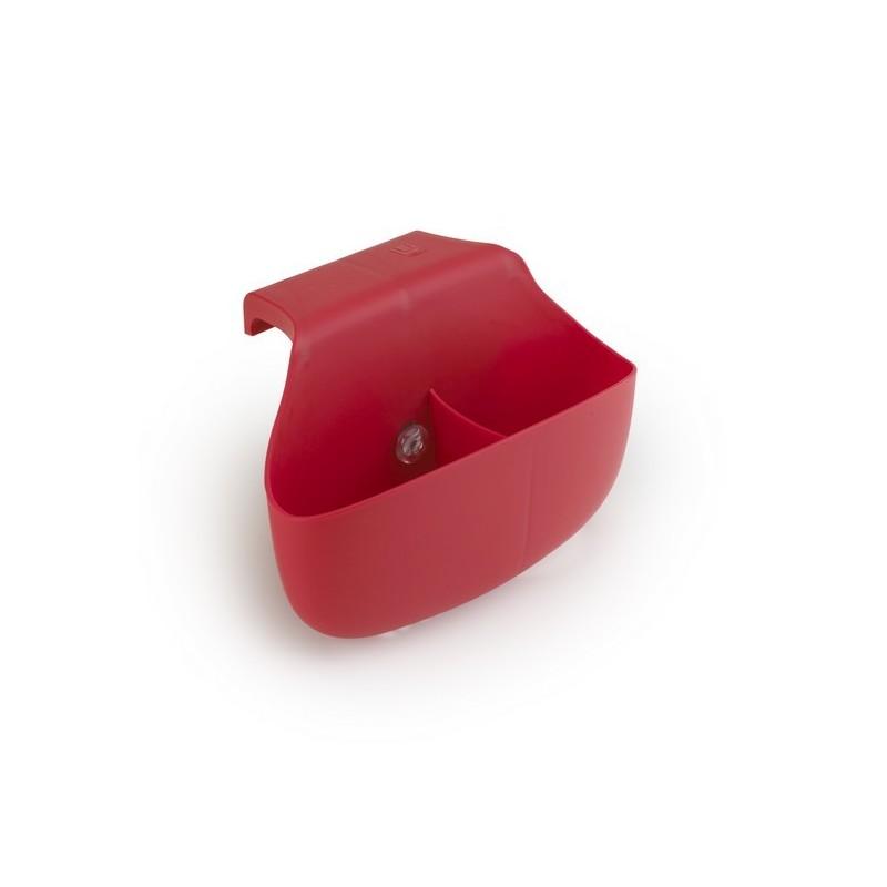 Porte ponge cuisine rouge side saddle kdesign for Porte eponge rigolo