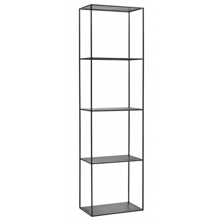 etagere a poser colonne metal noir madam stoltz. Black Bedroom Furniture Sets. Home Design Ideas