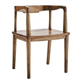 Chaise bois style rétro vintage Madam Stoltz