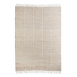 Tapis beige écru naturel coton seagrass Madam Stoltz 180 x 270 cm