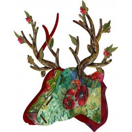 miho best man trophee mural tete de cerf big deer