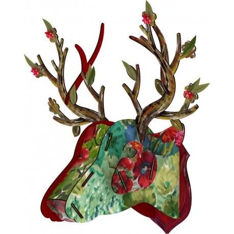 Trophée mural tête de cerf Big Deer Miho Best Man