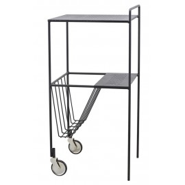 Desserte design métal noir House Doctor Trolley Use