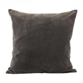 Housse de coussin velours gris House Doctor Velv 60 x 60 cm