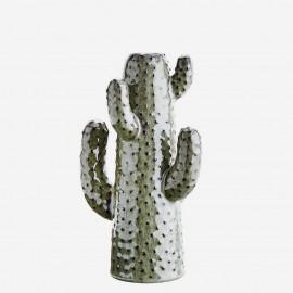 Vase cactus grès vert Madam Stoltz