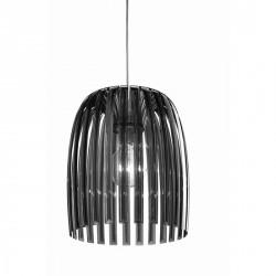 Lampe suspension grise anthracite design koziol joséphine