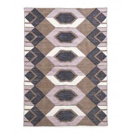 Tapis déco motif géométrique coton House Doctor Art