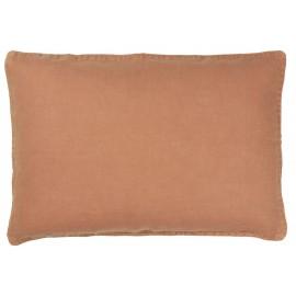 ib laursen housse de coussin lin beige rectangulaire 40 x 60 cm