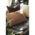 Housse de coussin lin beige rectangulaire IB Laursen 40 x 60 cm